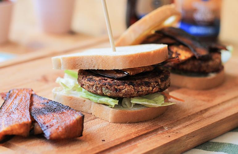 Bacon Vegano de Beringela