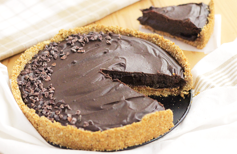 Tarte-de-Chocolate