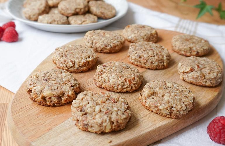 Cookies de Aveia e Amêndoa