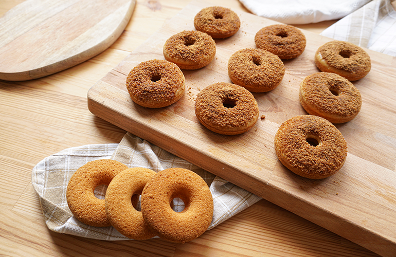 Donuts Clássicos Veganos