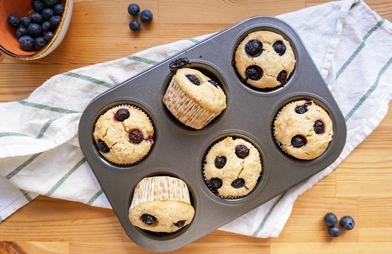 Muffins Mirtilo