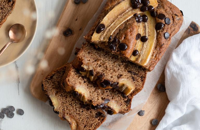 Receita Vegan Banana Bread